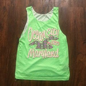 Ocean City Maryland Neon Green Jersey